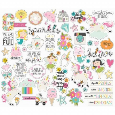 SIMPLE STORIES - DREAM BIG - DIE CUTS