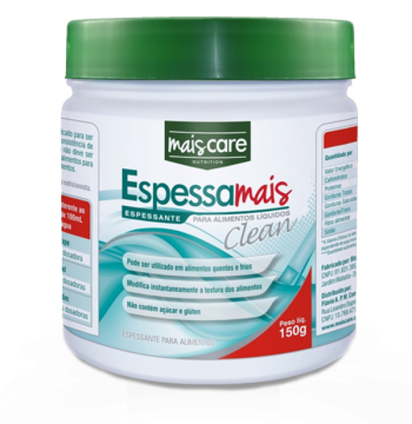 Espessante Mais Care Clean 150g