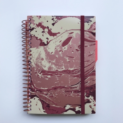 Planner Vice-Versa Mineral Pink - 128 Folhas