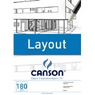 Bloco Canson  A4 180 gr/m. Layout