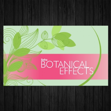 Cartão - Botanical Effects