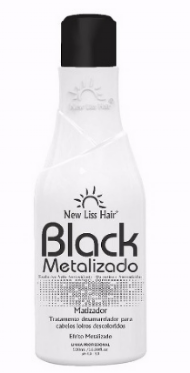 MÁSCARA MATIZADORA BLACK METALIZADO NEW LISS HAIR 500ML
