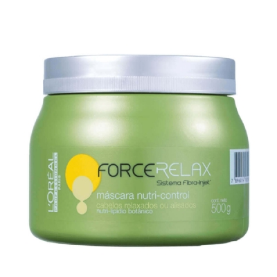 Máscara L'Oreal Force Relax Care Nutri Control 500g