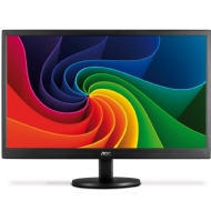 Monitor AOC LED 15.6 Slim Design 8ms e-Saver DCB Color Bust Eco-Mode USB E1670Swu