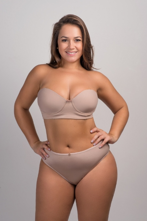 8b0367aa5 SUTIÃ TOMARA QUE CAIA POWER PLUS SIZE NUDE