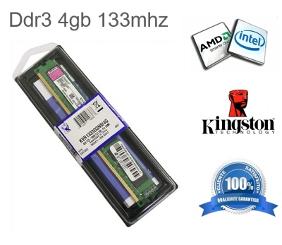 MEMÓRIA DDR3 KINGSTON KVR13N9S8/4 4GB 1333MHZ