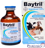 Baytril Injetável 10% 50ml