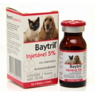 Baytril Injetável 5% 10ml