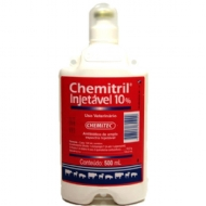 Chemitril Injetável 10% 500ml