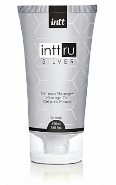 Gel para Massagem Perfumado INTT RU SILVER 150 ml
