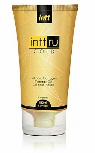 Gel para Massagem Perfumada INTT RU Gold 150ml