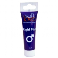 Prolongador de Ereção Rigid Plus Bisnaga 15ml Soft Love