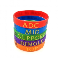 LoL League of Legends Pulseira de Silicone